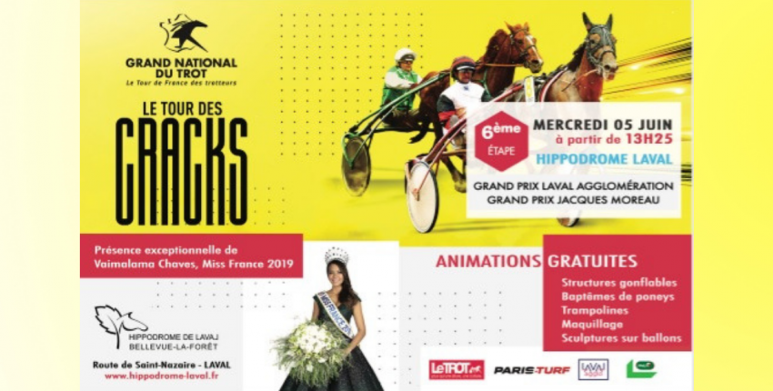 Grand National du Trot // Animations familiales // Laval